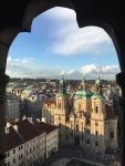 la vista desde el Reloj Astronómico de Praga